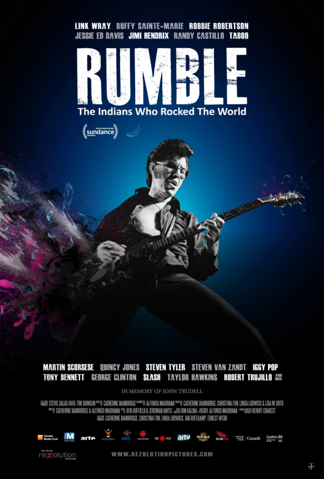 RUMBLE: The Indians Who Rocked The World – Poster