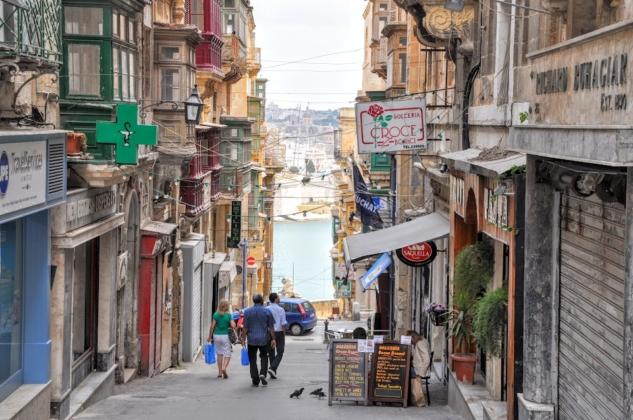 Valletta-Malta-Old-Street
