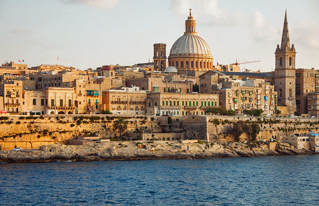 En Tipik Akdenizli Malta'ya Gitmek için Beş Neden