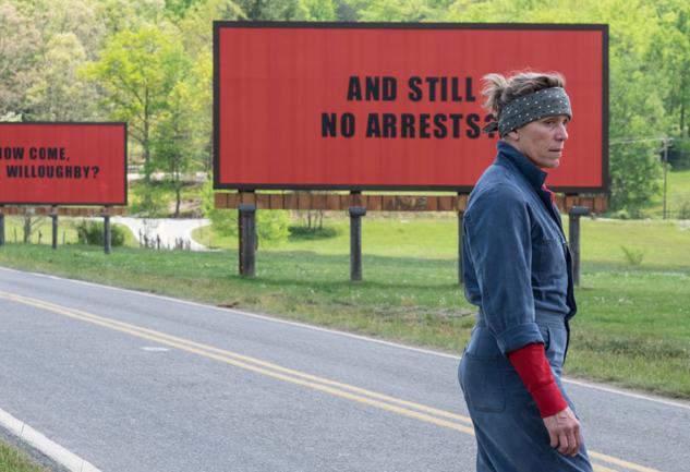 2018 Oscar Yarışı: Three Billboards Outside Ebbing, Missouri