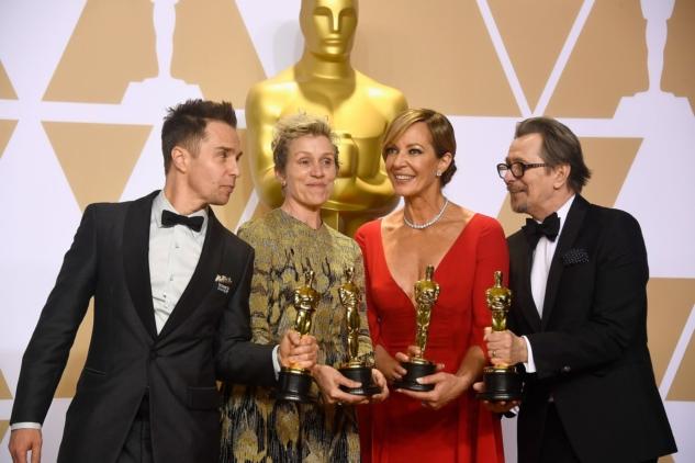 Sam Rockwell, Frances McDormand, Allison Janney & Gary Oldman