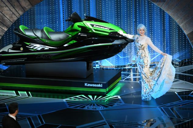 Jet Ski & Helen Mirren