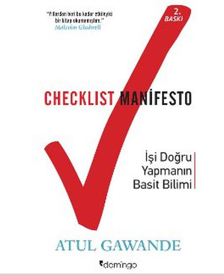 Checklist Manifesto- İşler Nasıl Doğru Yapılır