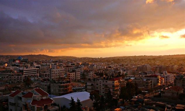 Ürdün Gezi Rotası, Amman'da Gün Batımı