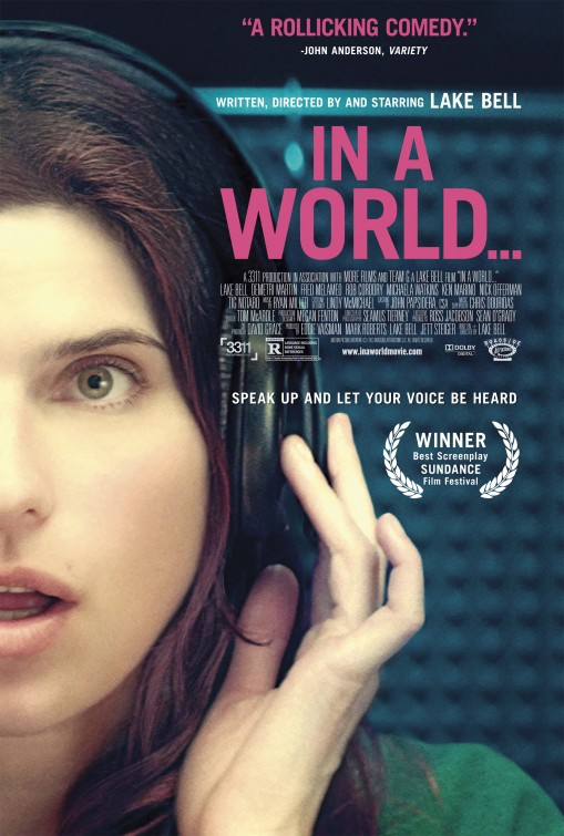 In a World...: Seslendirme Komedisi