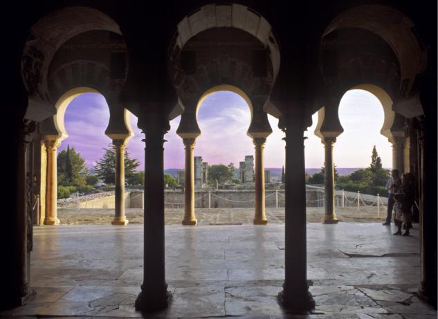 "Salle d""Abd al-Rahman III. Nef latérale"