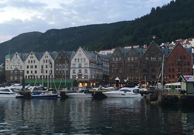 Bergen Liman Manzarası
