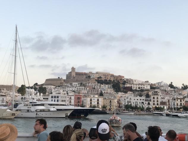 Ibiza Old Town – Tekneden Görünümü