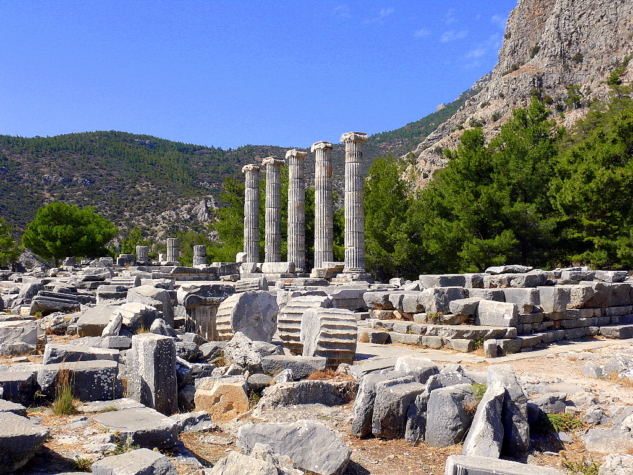 antik kentler – priene