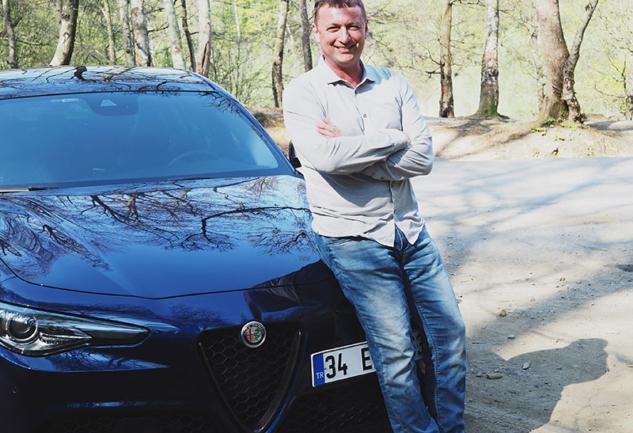 Alfa Romeo Hikayeleri: Gürbüz Şentürk ve Giulia