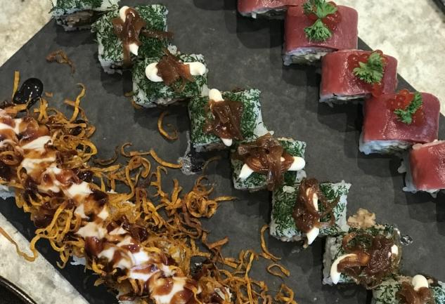 Orōro Sushi Bar: Moda'da Japon Mutfağından Esintiler