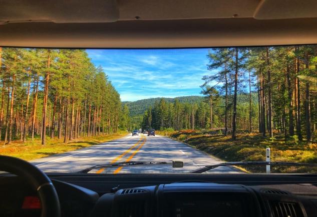 Norveç'te Karavan ile 4 Gün