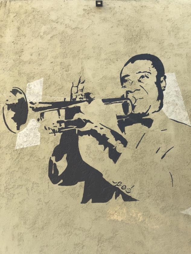 Rodos'ta sokak sanatı