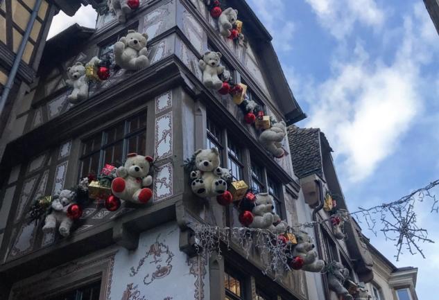 Colmar ve Strazburg: Oyuncak Dükkanında Yılbaşı