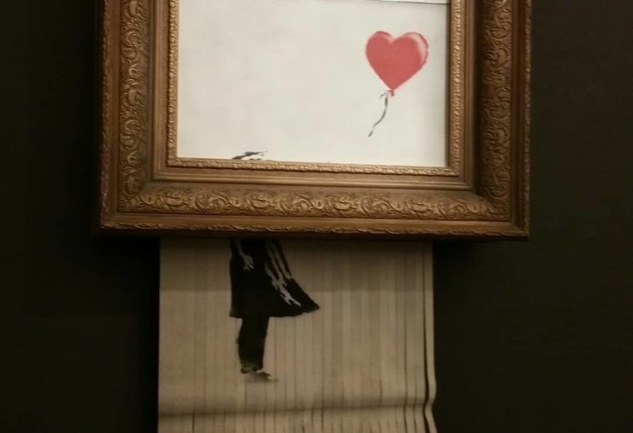 Kendini İmha Eden Eser: Banksy ve