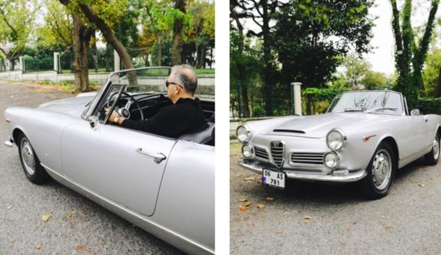 Alfa Romeo Hikayeleri Leon Kalma ve 1964 Model 2600 Spider 2