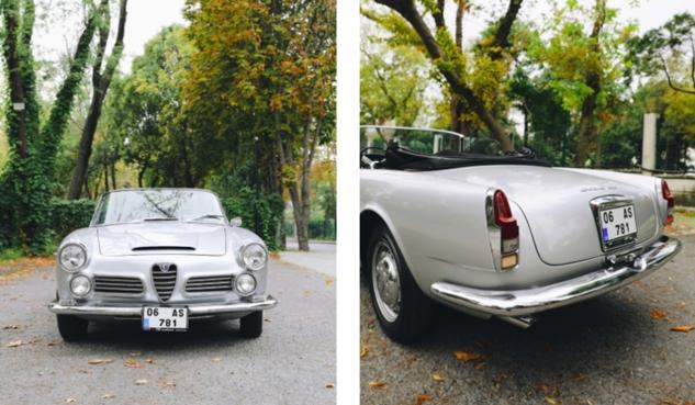 Alfa Romeo Hikayeleri Leon Kalma ve 1964 Model 2600 Spider 3