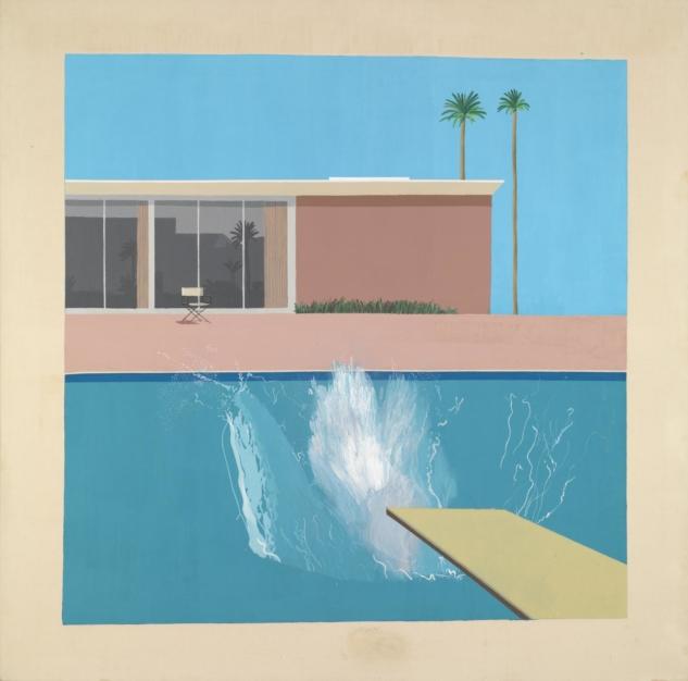 David Hockney, A Bigger Splash, 1967 | Görsel: tate.org.uk