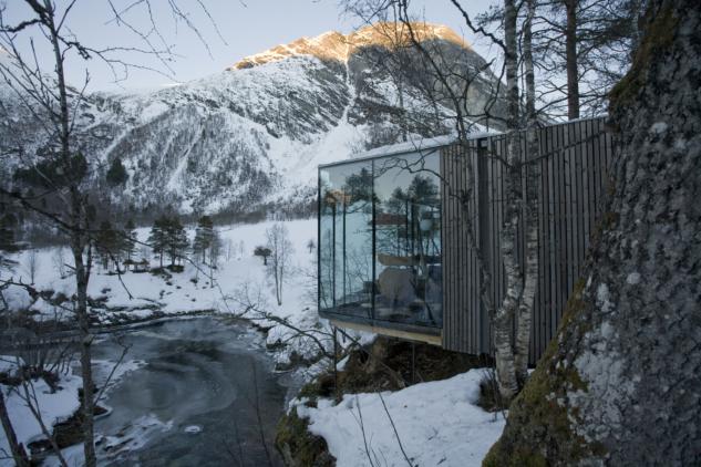 nordik kış otelleri – juvet landscape hotel – juvet.com