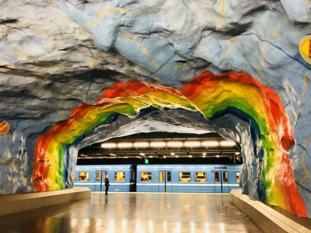 Stockholm metro durakları