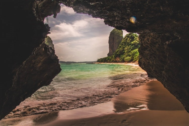 Railay Beach Tayland