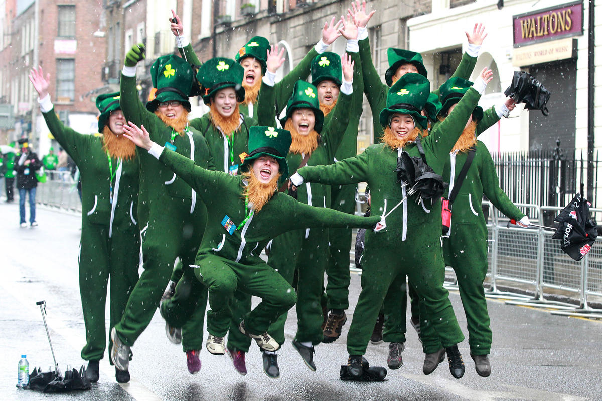 irlanda festivalleri - st. patricks day