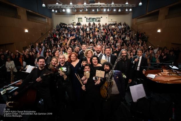 Çiğdem Erken'le Sahneden Aşk Şarkıları, ENKA Kültür Sanat
