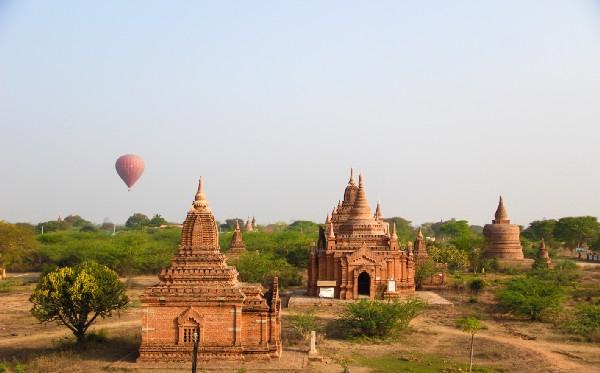 Myanmar Tapınakları 4
