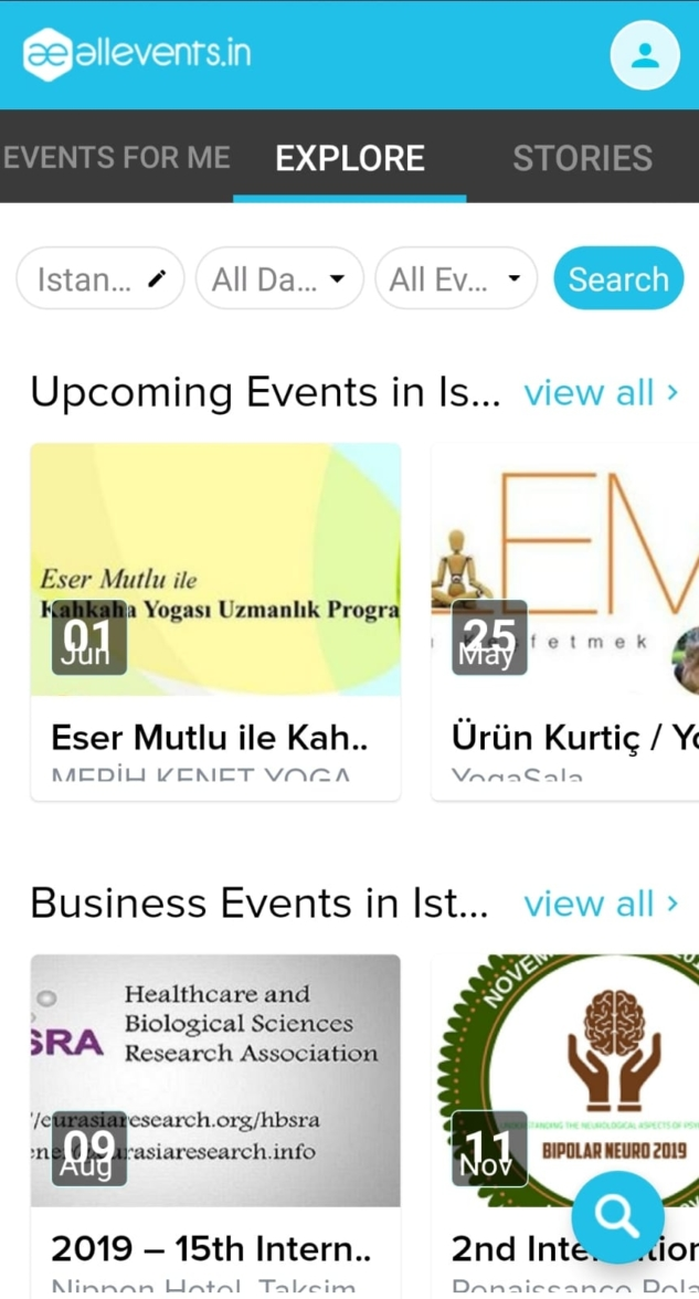 All Events In The City