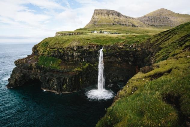 Faroe Adaları, Danimarka