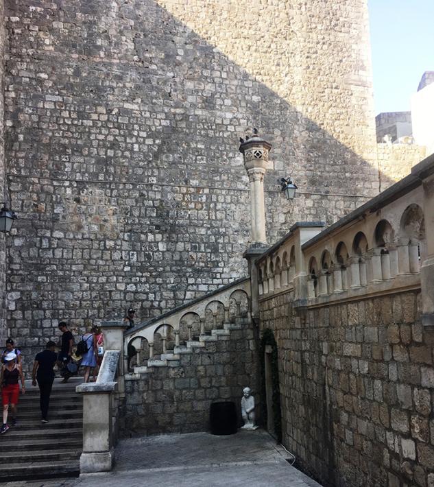 Pile Kapısı Merdivenleri