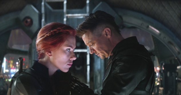 avengers endgame black widow hawkeye