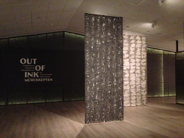 murekkepten – pera muzesi cin murekkep sanati sergisi