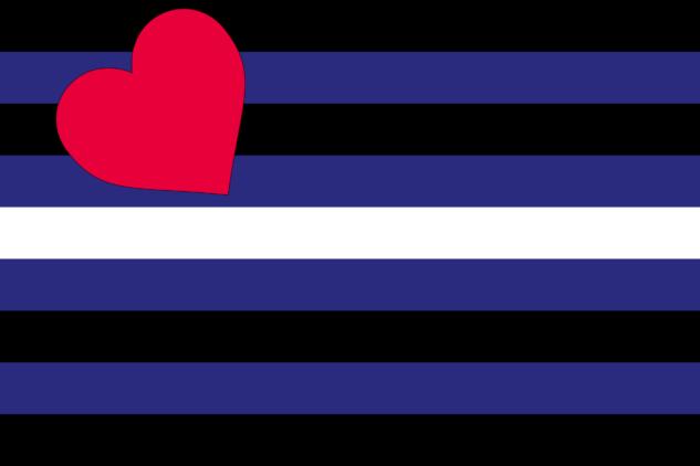 gökkuşağı bayrağı – leather pride