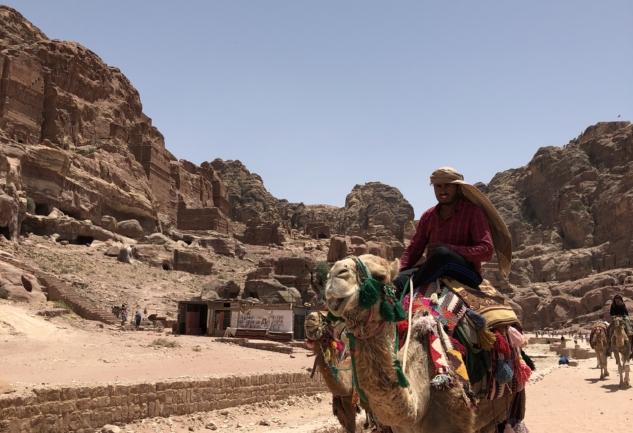 Petra: Ürdün'de Gül Rengi Bir Doğa Harikası