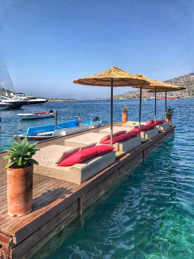 otelde deniz