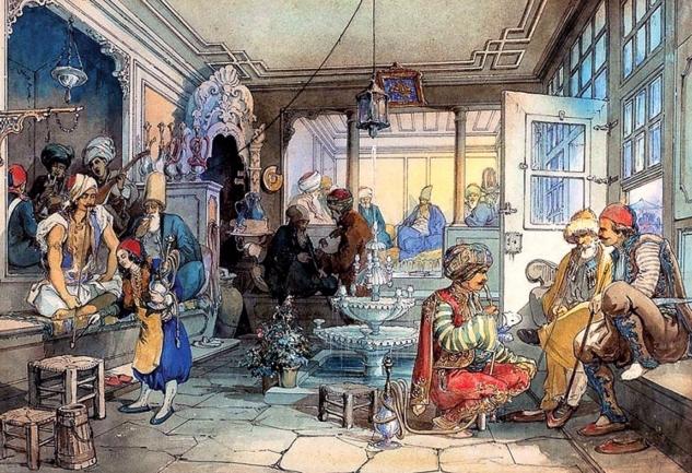 Osmanlı'da Kahvehaneler