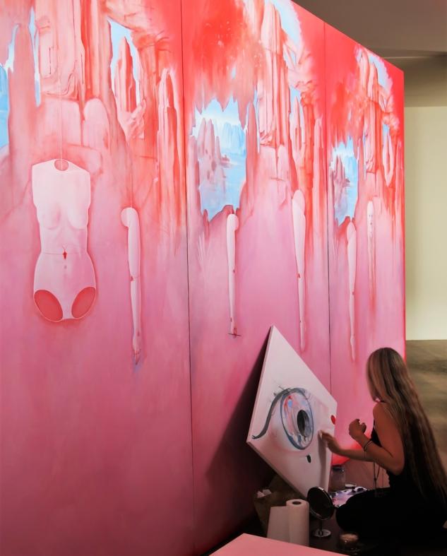 FANTAZYA, Ressamın Stüdyosunun Gölgeler Aleminde Yansıması [Üç Bölüm Halinde: Distopya, Heterotopya, Ütopya], Ylva Snöfrid