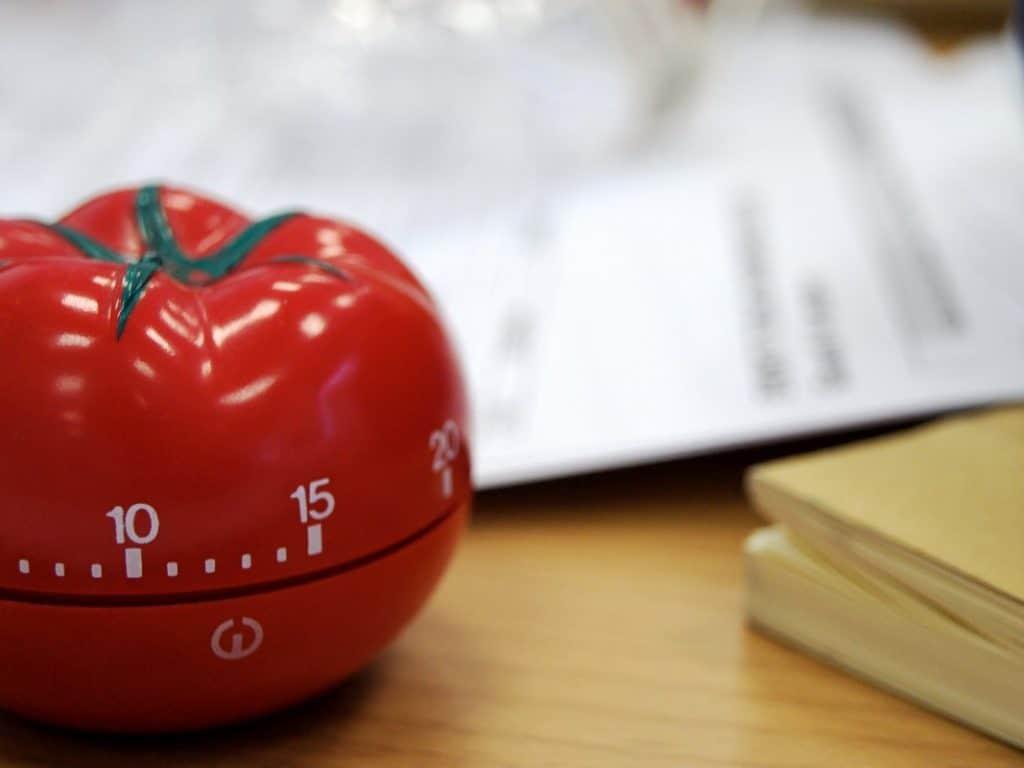 Pomodoro öğrenciler için taktik