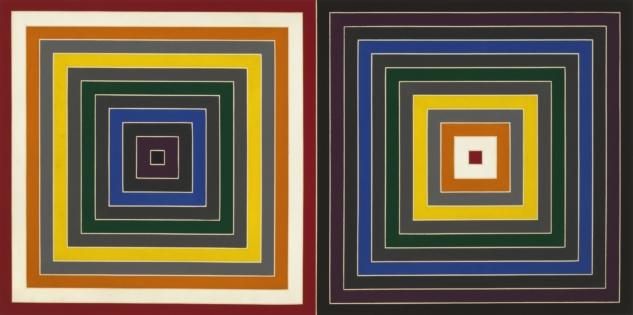 minimalizm akımı - frank stella
