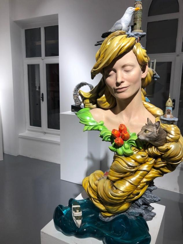 İstanbul Heykeli: Maria Kılıçlıoğlu'ndan İlham Dolu Bir Eser