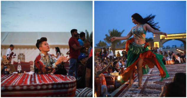 Lahbab Çölü kamp yeri, Dubai