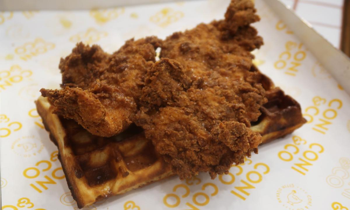Coni & Co, Belçika usulü waffle  | Fotoğraf: İrem Bali