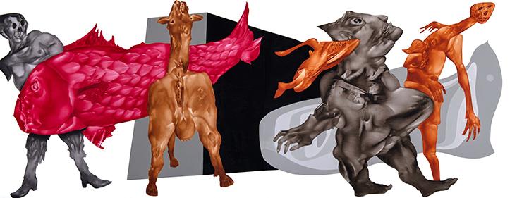 Tavşan Kaç, Tazı Tut, Ferda Art Platform