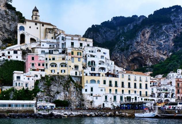 Ravello, Amalfi, Positano: Limoncello Kokulu Güney İtalya!