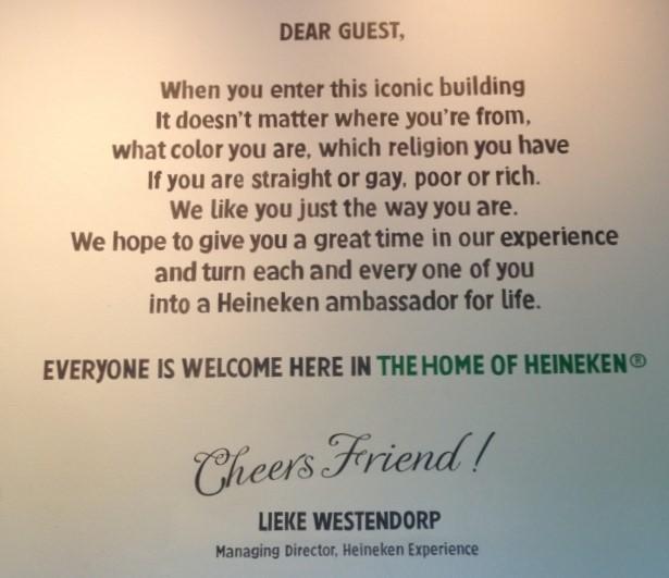Heineken Experince Giriş