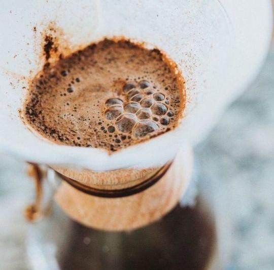 Kahvenin Blooming (Çiçeklenme) Hali