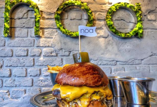 Noa Burger Food: Burger ve Esnaf Kültürü Dikilitaş'ta Birleşti