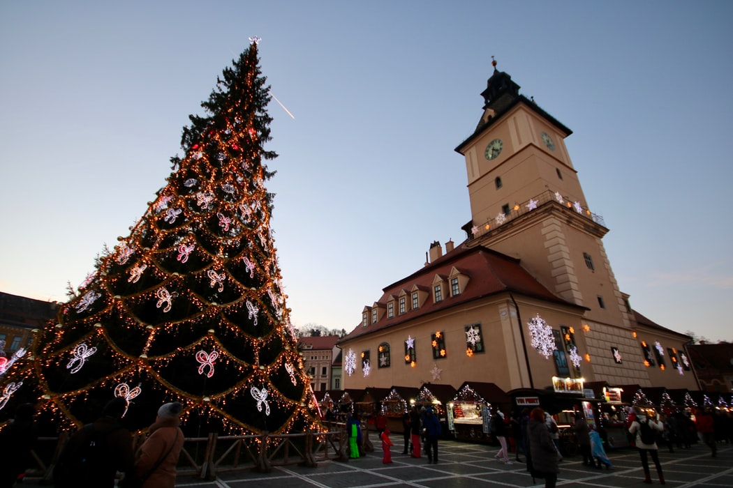 Romanya, Sibiu Noel Pazarı | Fotoğraf: Unsplash / Jorge Fernandez Salas