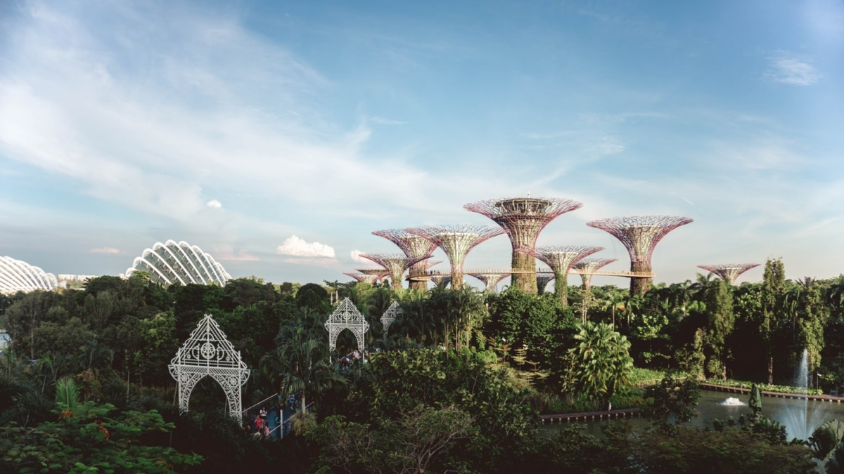 Singapur, Gardens By The Bay | Fotoğraf: Unsplash / Yeo Khee